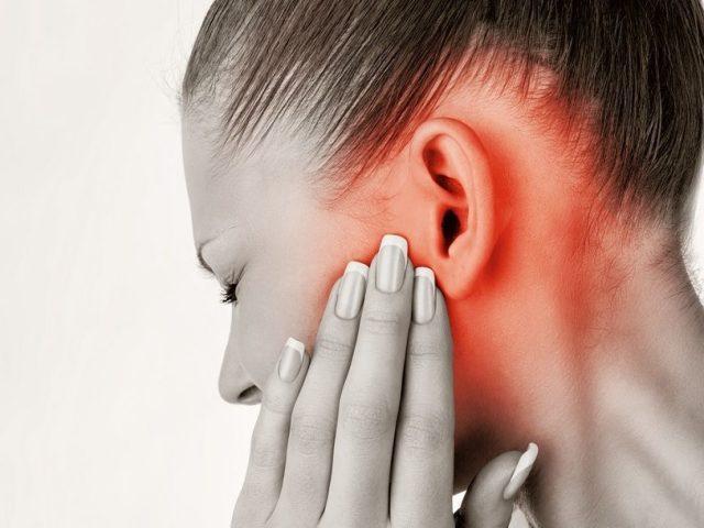 заложило уши при простуде что делать