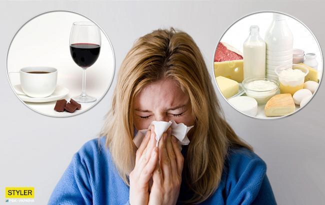 что есть при простуде
